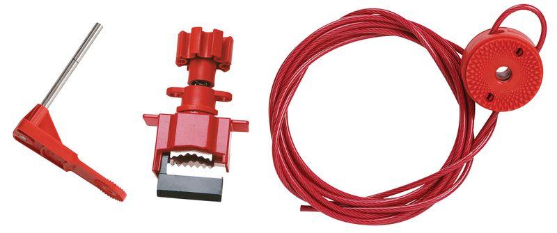 Universal Cable Valve Lockout Kit