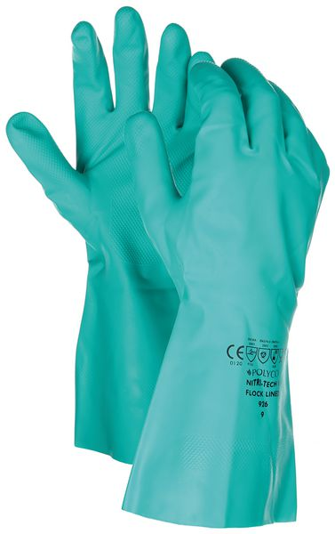 Polyco® Nitri-Tech III Flock Lined Gloves