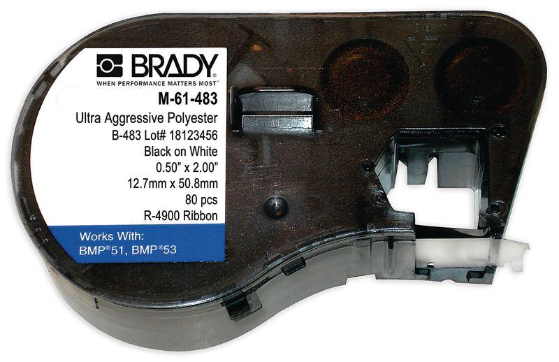 Brady BMP41 Printer Labels