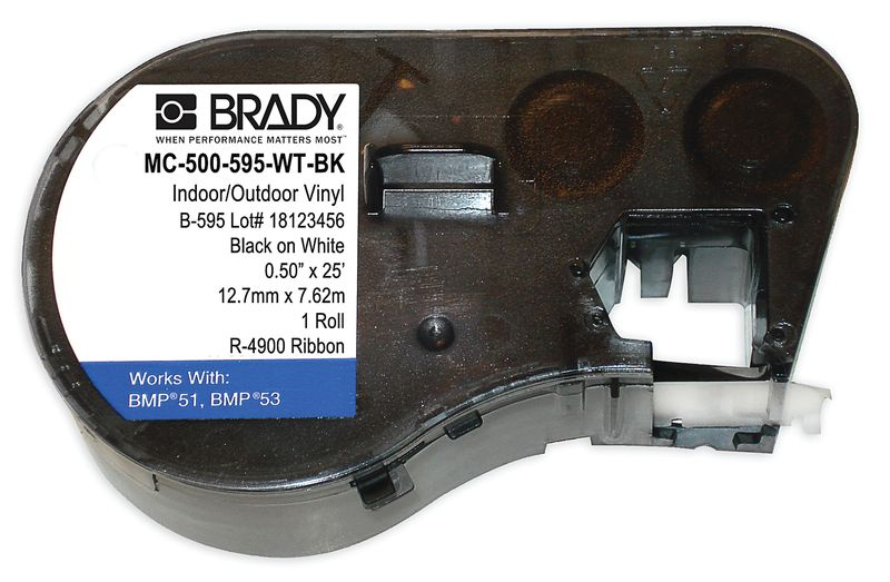 Brady BMP41 Vinyl Tapes
