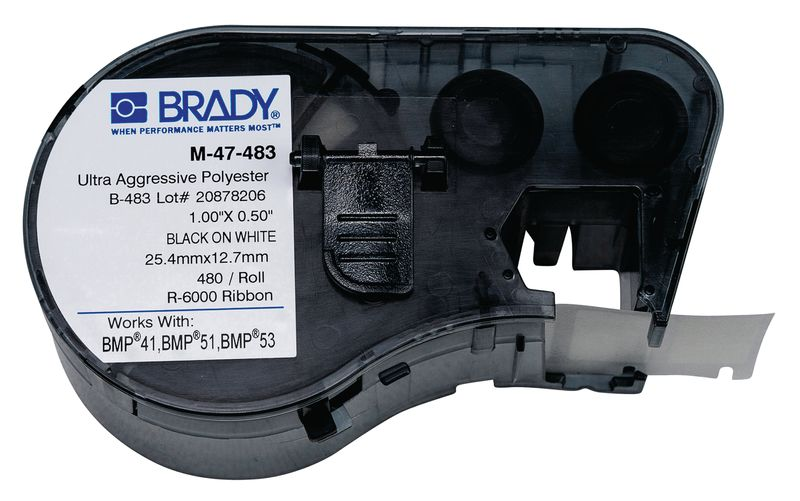 Brady BMP41 Printer Labels