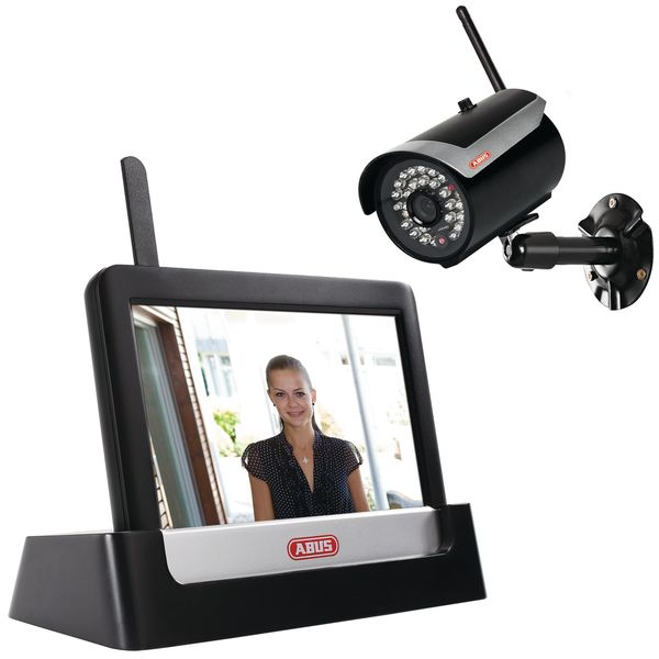 "7"" Home Video Surveillance Set Touch & App"