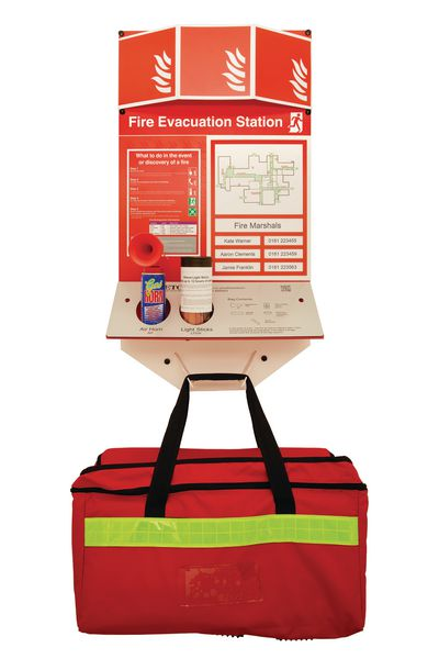 Fire Evacuation Stations - Stocked