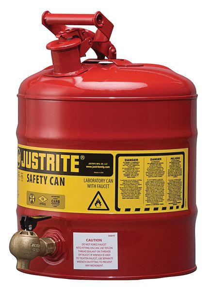 Flammable Liquid Lab Steel Shelf Can