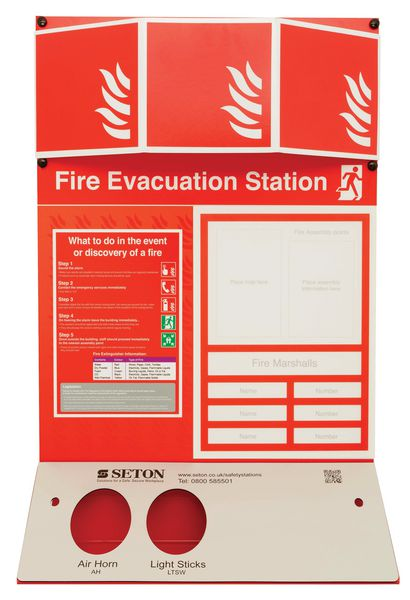 Fire Evacuation Stations - Unstocked
