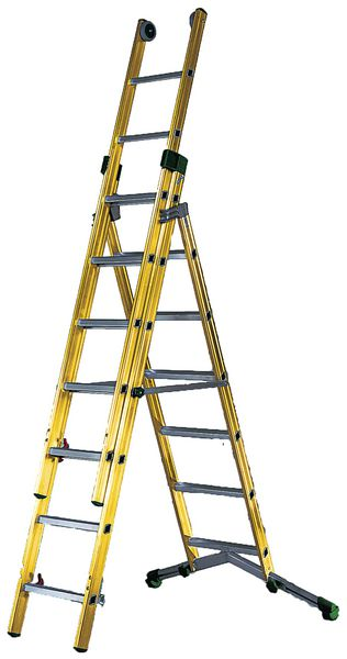Fibreglass Combination Ladders