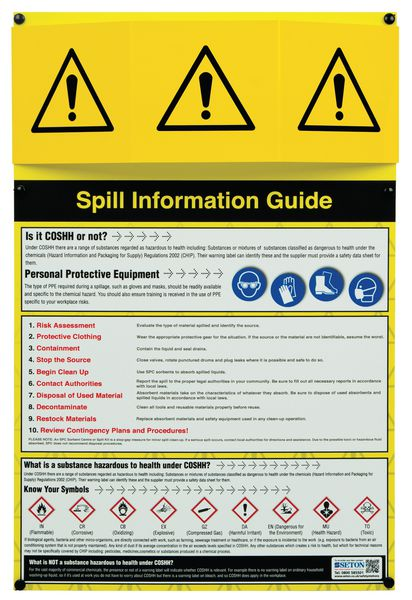 Spill Information Points