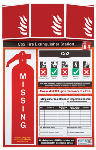 Fire Extinguisher Stations - Unstocked