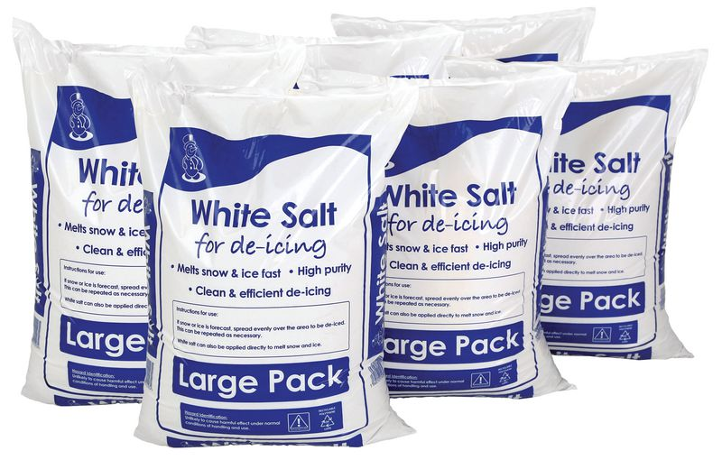 White De-Icing Salt - 6 for the price of 4 - SPECIAL OFFER