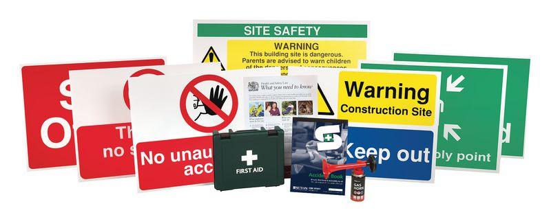 Construction Starter Packs - Medium Signage