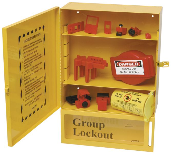 Combined Lockout Station & Box Kit