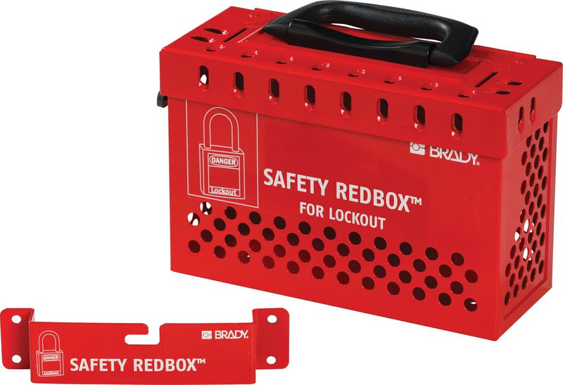 Safety Redbox Lockout Box - Group
