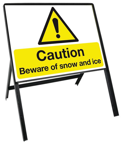Heavy Duty Temporary Winter Sign Kits