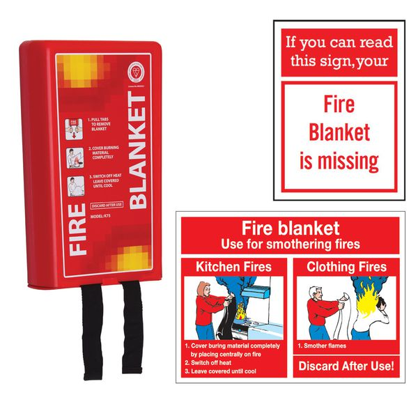 Classic Fire Blanket & Sign Kits