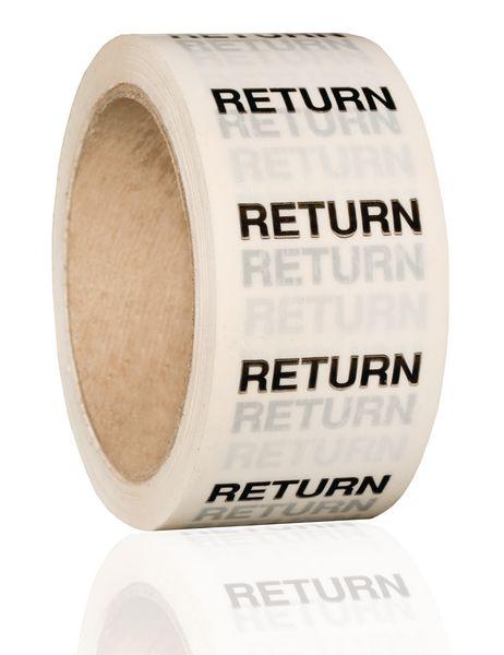 British Standard Pipeline Marking Tape - Return