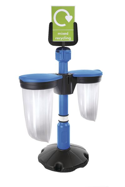 Skipper™ Recycling Station with Post and Base
