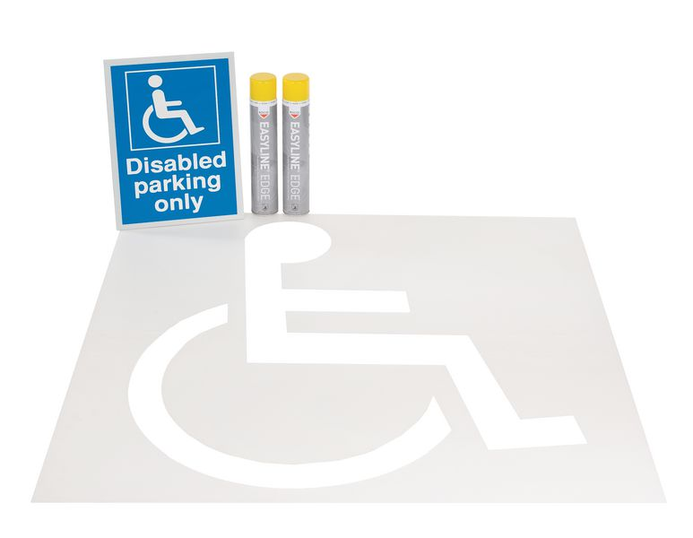 Disabled Parking Bay Update Kits
