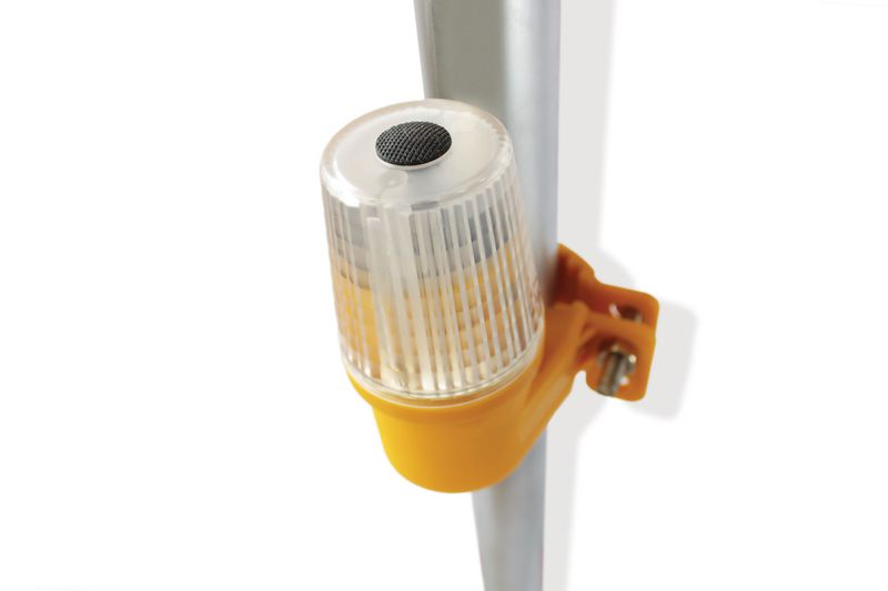 Scaffolding and Barrier Safety Lights