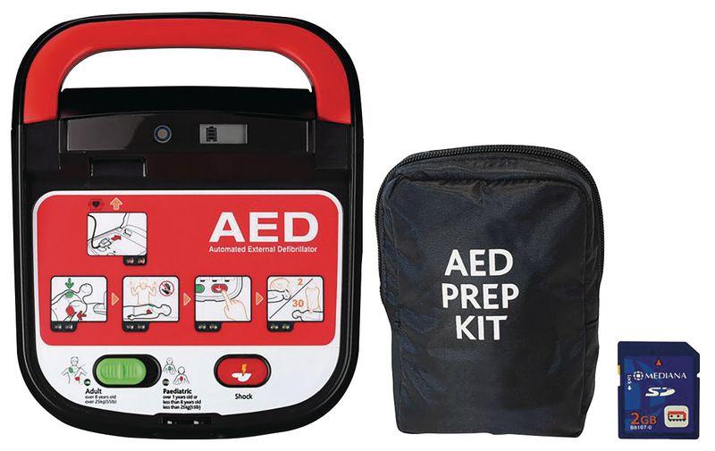 Mediana HeartOn Defibrillator & Casualty Prep Kit