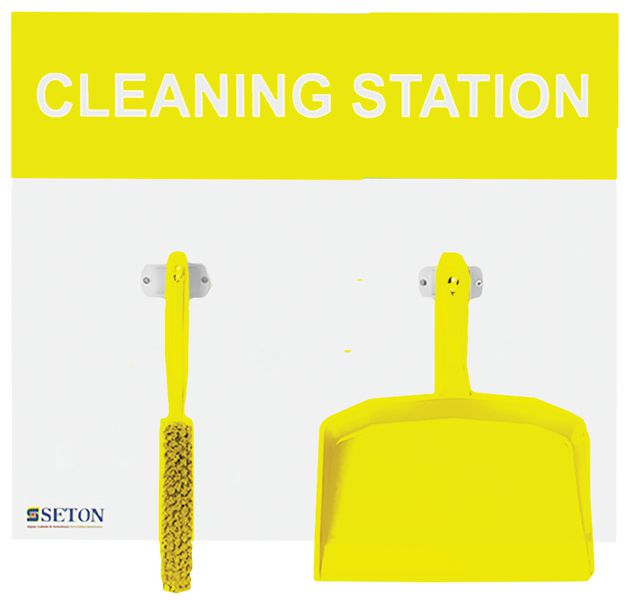 5S Cleaning Stations