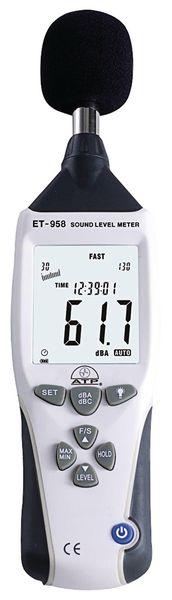 Precision Data Logging Sound Meter - Class 2