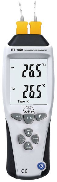 High Accuracy K & J Type Thermometer
