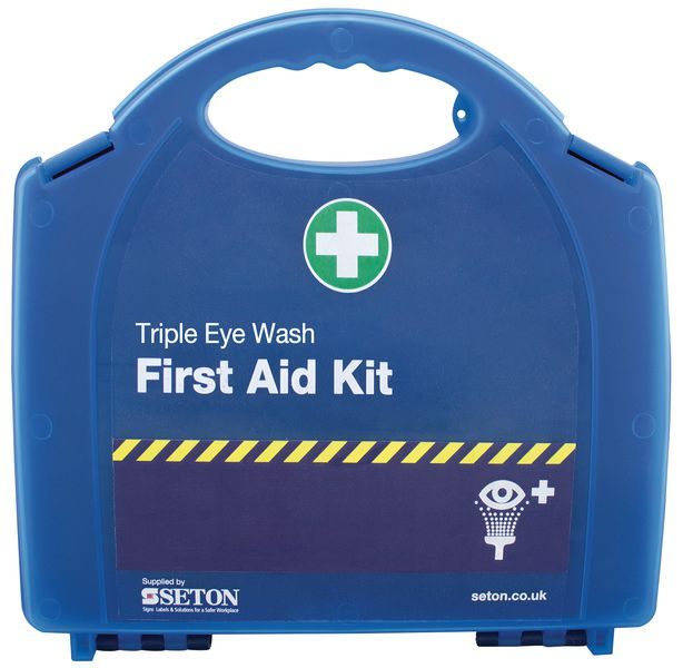 Triple Eye Wash Kit