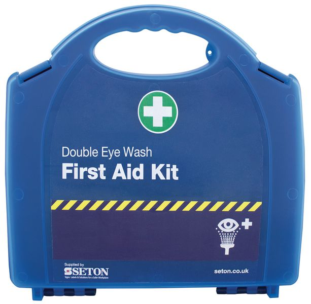 Double Eye Wash Kit
