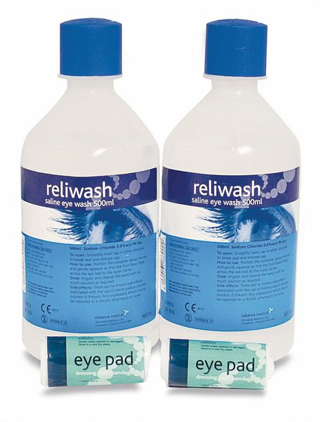 Eye Wash Kit Refill