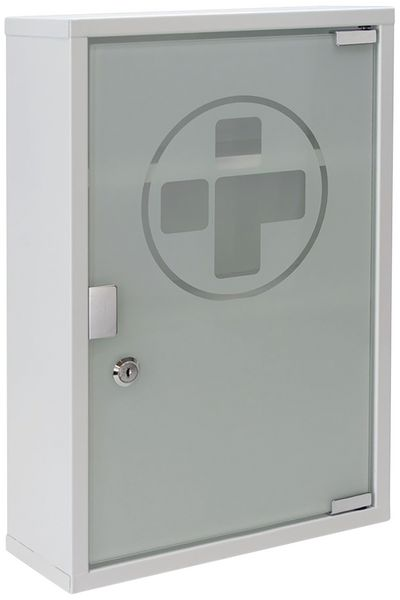 Metal First Aid Cabinets with Glass Door