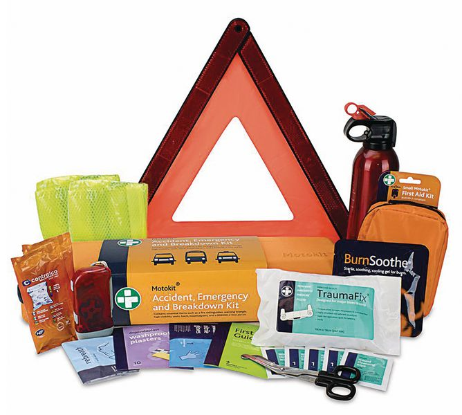 Roadside Emergency First Aid Kit