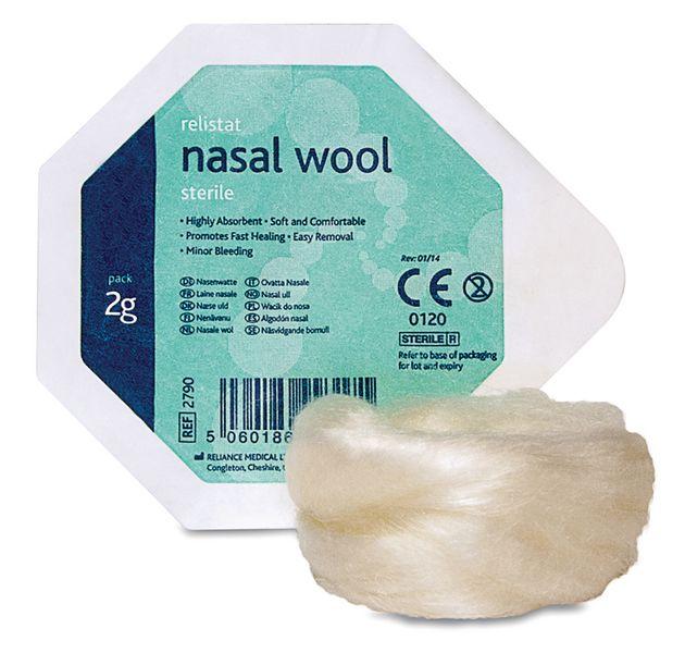 Sterile Nasal Wool
