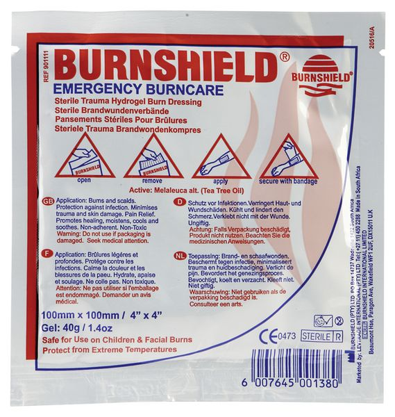 Burnshield Burn Dressings