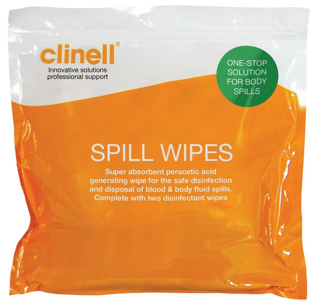 Clinnel Spill Wipes
