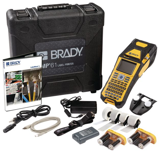 Brady BMP61 Label Printer - Industry Kits