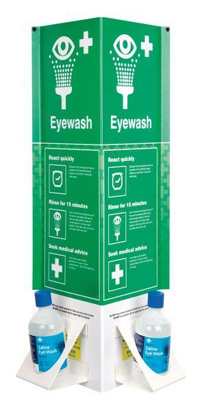 3D Eye Wash Bottle Stations