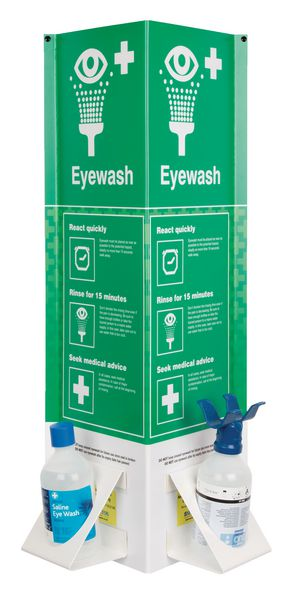 3D Eye Wash Bottle Stations