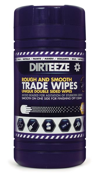Dirteeze Rough and Smooth Beaded Wipes