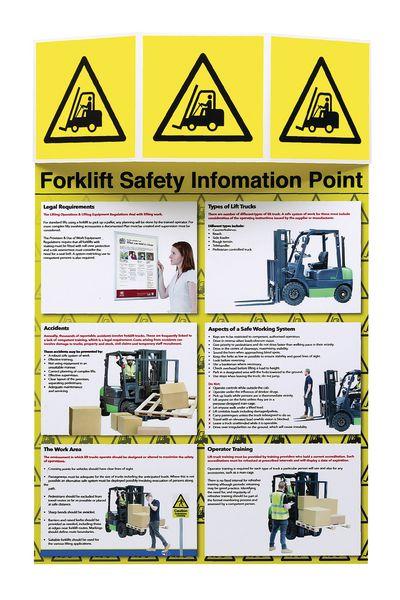 Forklift Truck Safety Information Point