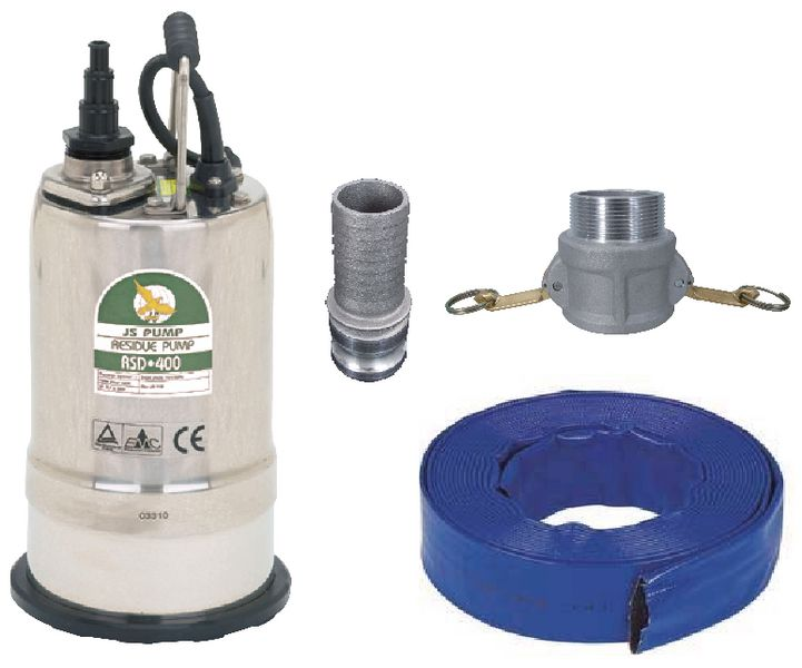 RSD400 Puddle Sucker Pump