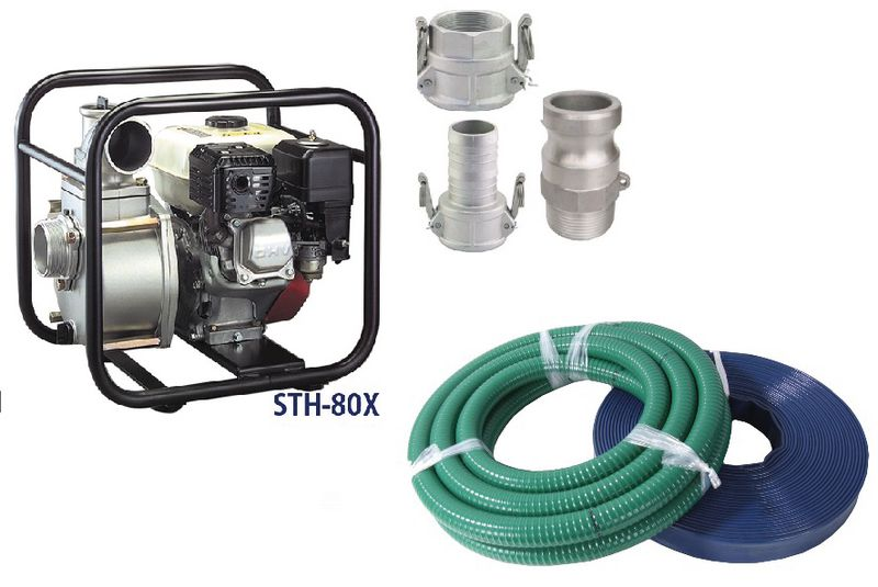 Honda Powered STH-80X Pump