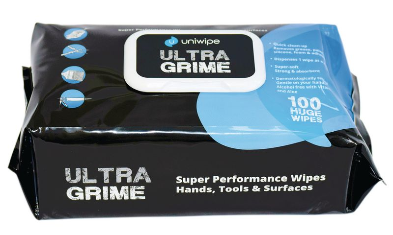 Uniwipe Ultra Grime Tool and Surface Wipes