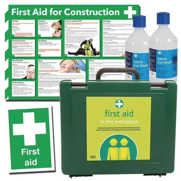 Construction First Aid Kit