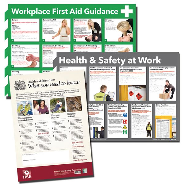 Workplace HSE Poster Multipack