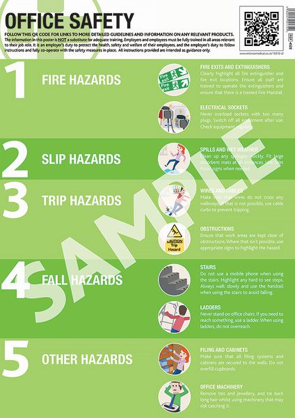 Office Safety Guidance Poster