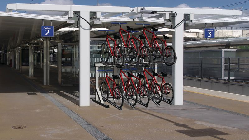 Double Stack Cycle Rack