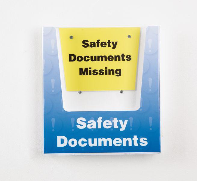 General Safety Document Holder