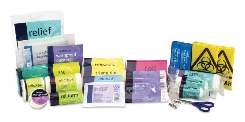Football First Aid Kit Refill (FA Approved)