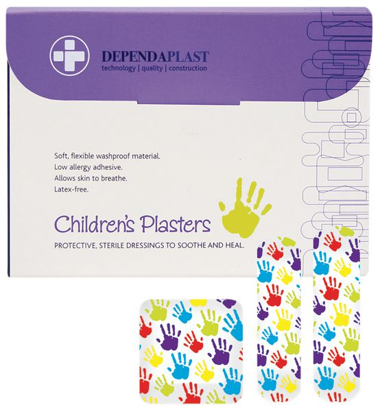 Dependaplast Childrens Washproof Plasters