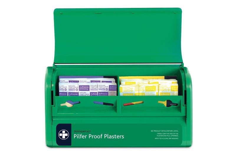 Pilfer Proof Plaster Dispenser